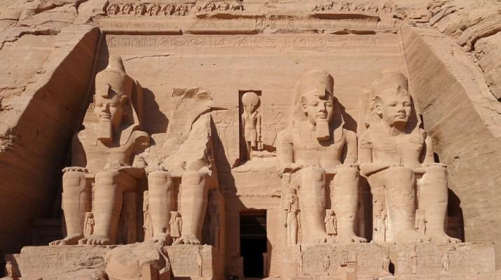 egipt posąg