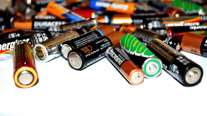 recykling baterii